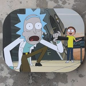 Rick & Morty Magnetic Rolling Tray w/Lid